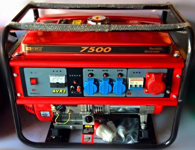7500型铃木(铃木)汽油发电机 三相